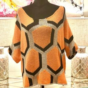 DVF off the shoulder sweater